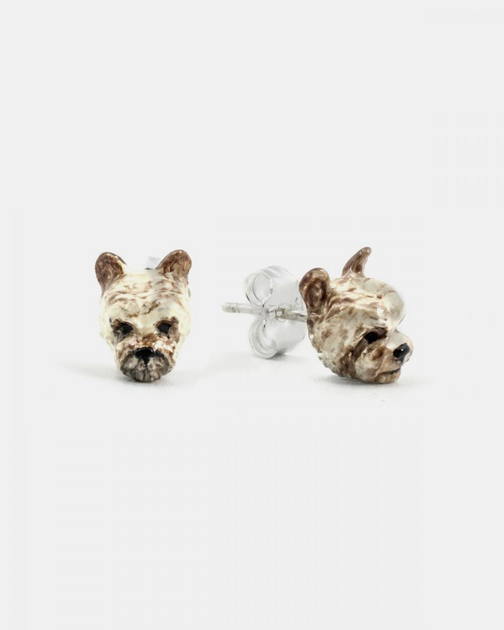 Earrings YORKSHIRE COUPLE EARRINGS / ENAMELLED NOVE25