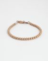 600 ball bracelet rose gold finish