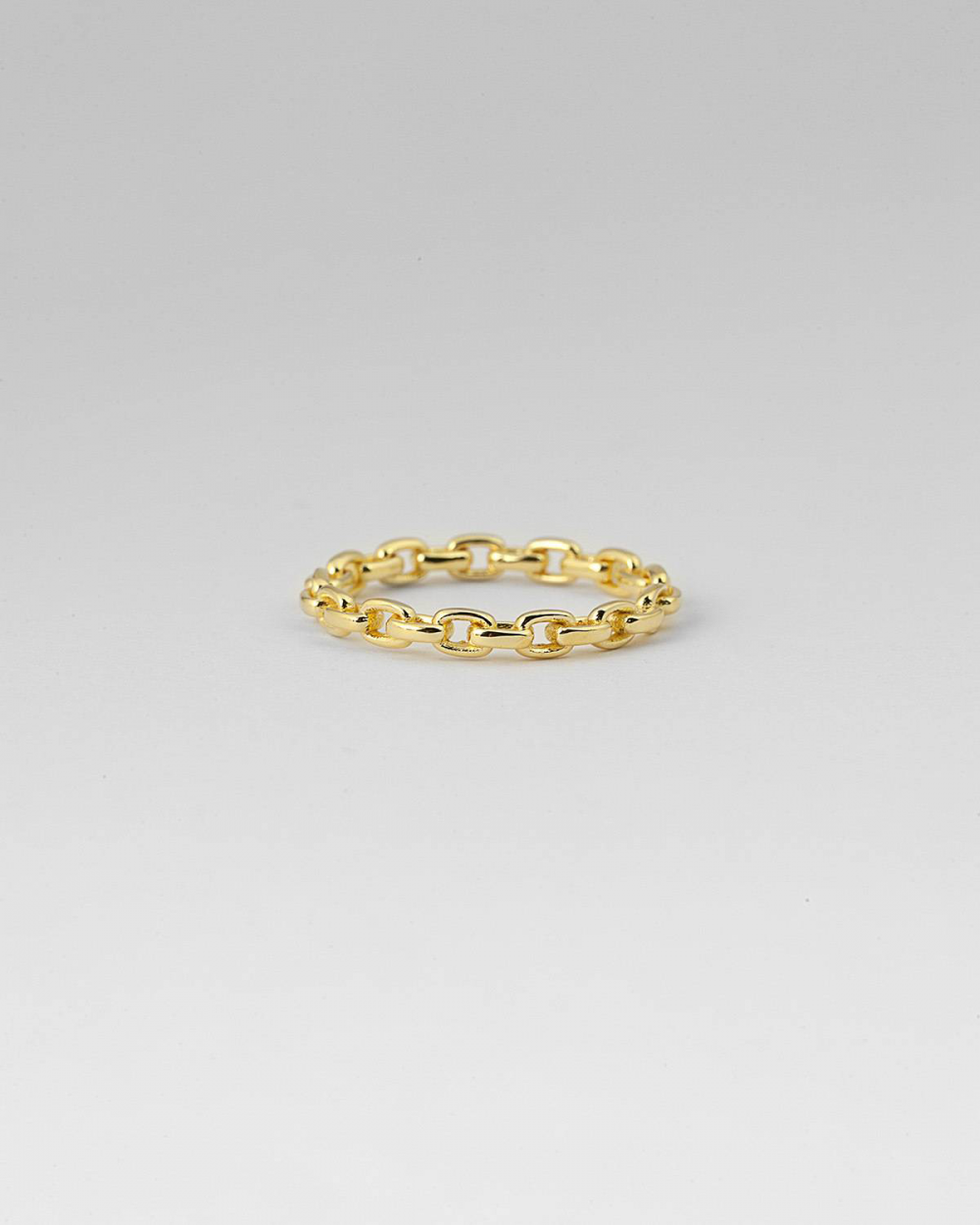 Rings YELLOW GOLD CHAIN FINE RING NOVE25